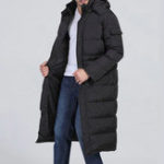 New Winter Outdoor Windproof Warm Hood Long Padded Jacket Parka