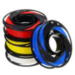 New CCTREE® Blue+White+Yellow+Red Color 200g/Roll 1.75mm PLA Filament Kit for 3D Printer Reprap