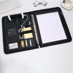New Men Multi-function Folder Zipper Briefcase