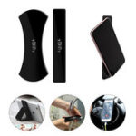 New IPRee® 2Pcs/set Phone Holder Sticker Rubber Paster Pad Car Travel Bracket Anti Slip Phone Stand