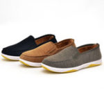 New Men Knitted Fabric Flats