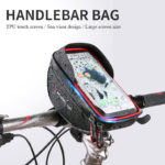 New Wheel UP 6.0Inch Touch Screen Bike Mobile Phone Bag Waterproof Mountain Bike Front Handlebar Bag