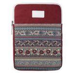 New Vertical Tablet Case with Texture Design for 13.3 inch Tablet – Red