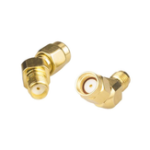New 2pcs RJXHOBBY SMA Female to RP-SMA Male 45 Degree Antenna Adapter Connector for RX5808 Fatshark