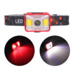 New XANES YD-21 550LM XPE LED+2*COB LED 5 Modes Multifunctional Bike Headlight USB Rechargeable Mini Headlamp