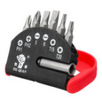 New 7pcs Magnetic Screwdriver Bits Set 1/4 Inch Hex Shank Multi-functional Electric Screwdriver Bit