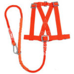 New 100kg Max Load Orange Aerial Work Rope Climbing Rope Belt Outdoor Mountaineering Belts Security Protection Accessories