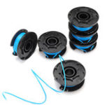 New 6pcs Replacement Spool String Line For Ryobi One And AC14RL3A Grass Trimmer Head Garden Tool