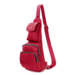 New Women Nylon Waterproof Casual Leisure Chest Bag