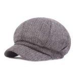 New Men Women Winter Retro Classic Painter Hat Vintage Beret Cap
