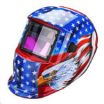 New Solar Pro Auto Darkening Welding Helmet Arc Tig Mig Protect Grinding Welding Mask