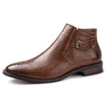 New Men Genuine Leather Shoes