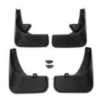 New 4Pcs Front And Rear Mud Flaps Car Mudguards For Peugeot Sedan 408 2010-2015