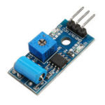 New LM393 Mini Tilt Angle Sensor Module Tilt Sensing Probe For Arduino Intelligent Car Accessories