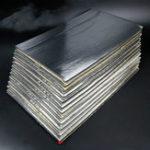 New 12Pcs 30cmx50cm 5mm Car Van Soundproof Deadening Mat Insulation Closed Cell Foam Sheet
