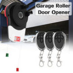 New Saws 110V 600N Auto Garage Roller Door Opener Motor 3 Remote Controls 16.5m²