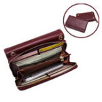 New Pierreloues Women 10 Card Wallet Detachable Shoulder Bag