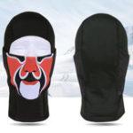 New Men Women Outdoor Sports Windproof Flexible Black Mask Hat