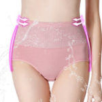 New Mesh Soft Hip Up Waist Slim High Waist Panties