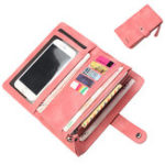 New Baellerry Women 9 Cards Slots Long Wallet Phone Bag
