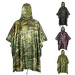 New Motorcycle Hunting Waterproof Outdoor Wearable Camouflage Raincoat Cover Camping