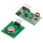New 100pcs 433Mhz RF Decoder Transmitter With Receiver Module Kit For Arduino ARM MCU Wireless