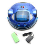 New Blue Smart Automatic Vacuum Cleaner Robot Wireless Remote Control Floor Dust Cleaner Sweeper