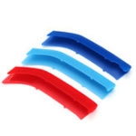 New Tricolor Front Car Moulding Trim Strip Cover Decoration ABS Clip For BMW 2 Series F22 F23