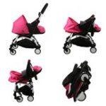 New Folding Baby Stroller Sleeping Basket Infant Carriage Pushchair Sleep Pad Travel Car Stroller