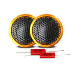 New 1 Set High-end Wired Car Tweeter 1 Inch 40W PZ-G25 Speaker Bass Sound Lightweight Loudspeaker