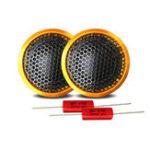 New 1 Set High-end Wired Car Tweeter 1 Inch 40W PZ-G25 Speaker Bass Sound Lightweight Loudspeaker