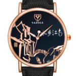 New YAZOLE 363 Chinese Style Retro Luminous Hand Women Watch