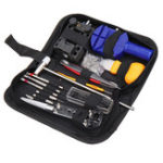 New 147Pcs Watch Repair Tools Kit Case Opener Link Spring Bar Remover Watchmaker Tool