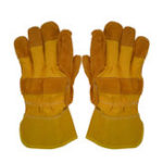 New KALOAD Cowhide Leather Welding Gloves Wearproof Cut-Resistant Anti-stab Security Protection Fitness