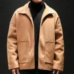 New Mens Solid Color Winter Warm Loose Casual Stylish Jacket