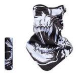New Winter Tactical Print Fleece Breathable Skull Face Mask Cap