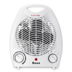 New 220V Portable Electric Space Heater 3 Heating Settings Winter Warmer Fan