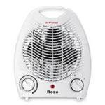 New 220V Portable Electric Space Heater 3 Heating Settings Winter Warmer Fan