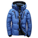 New Mens Winter Outdoor Thick Warm Down Jacket Insulated Parka
