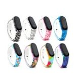 New Bakeey Replacement Camouflage Multi-color Design Silicone Watch Band for Xiaomi Mi Band 3
