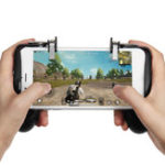 New Fire Trigger Gamepad  Phone Holder Bracket for Mobile Phone for PUBG FORTNITE