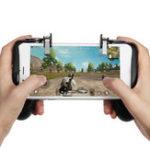 New Fire Trigger Gamepad  Phone Holder Bracket for Mobile Phone for PUBG FORTNITE