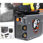 New ZX7-200 220V 10-200A 4kW Mini ARC MMA Electric Stick Welder Inverter ARC MMA IGBT Welding Machine