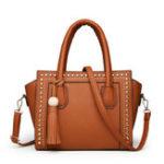 New Faux Leather Designer Handbag Shoulder Bag For Women