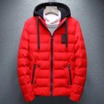 New Mens Winter Thick Warm Hooded Padded Jacket