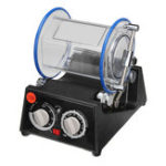 New 110V Rotary Tumbler Jewelry Polisher Cleaning Finisher Machine with Polishing Bead