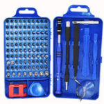 New 108 In 1 Watch Mobile Phone Multifunction Chrome Disassembly Repair Tools Kit