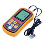 New GM100 Digital LCD Display Ultrasonic Thickness Gauge Metal Testering Measuring Instruments 1.2 to 200MM Sound Velocity Meter