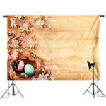 New 7x5FT Blooms Flower Easter Eggs Photography Backdrop Studio Prop Background