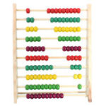 New 100 Beads Wooden Abacus Counting Number Preschool Kid Math Learning Teaching Toys